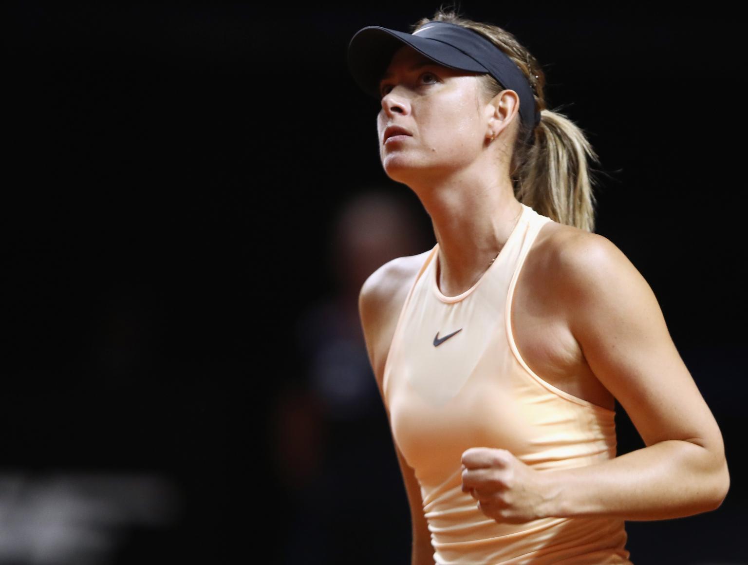 Maria Sharapova compete no Open de Mallorca