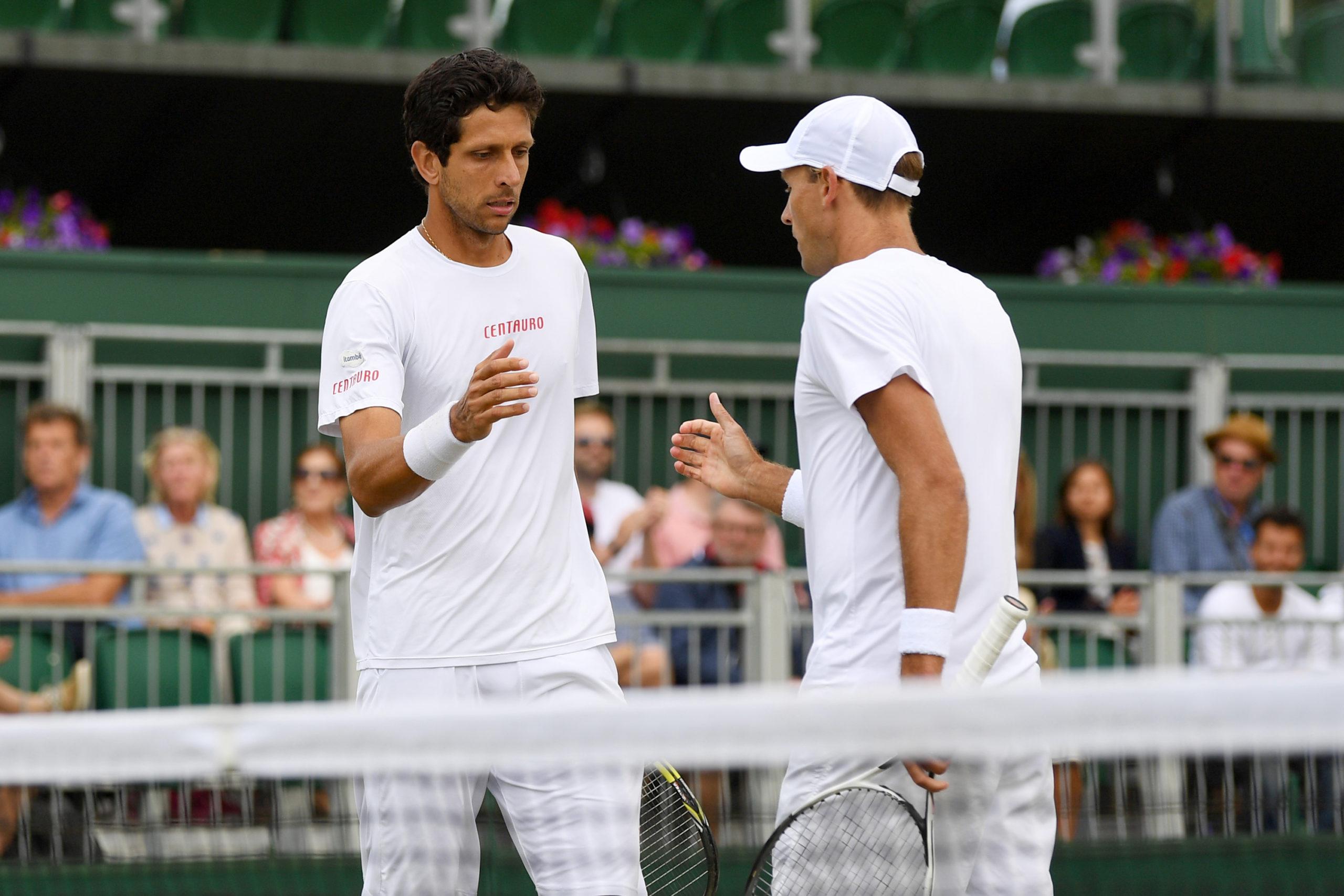 Brasileiros conhecem adversários em Wimbledon