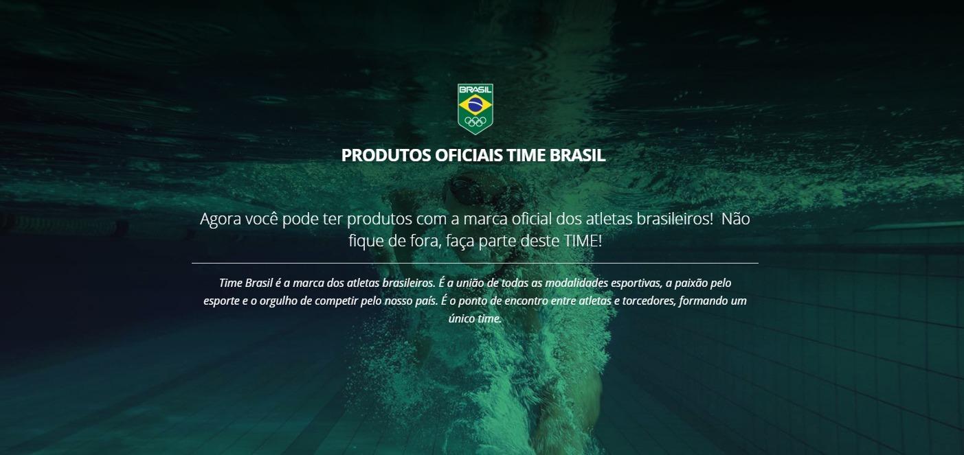 Comitê Olímpico do Brasil lança loja virtual