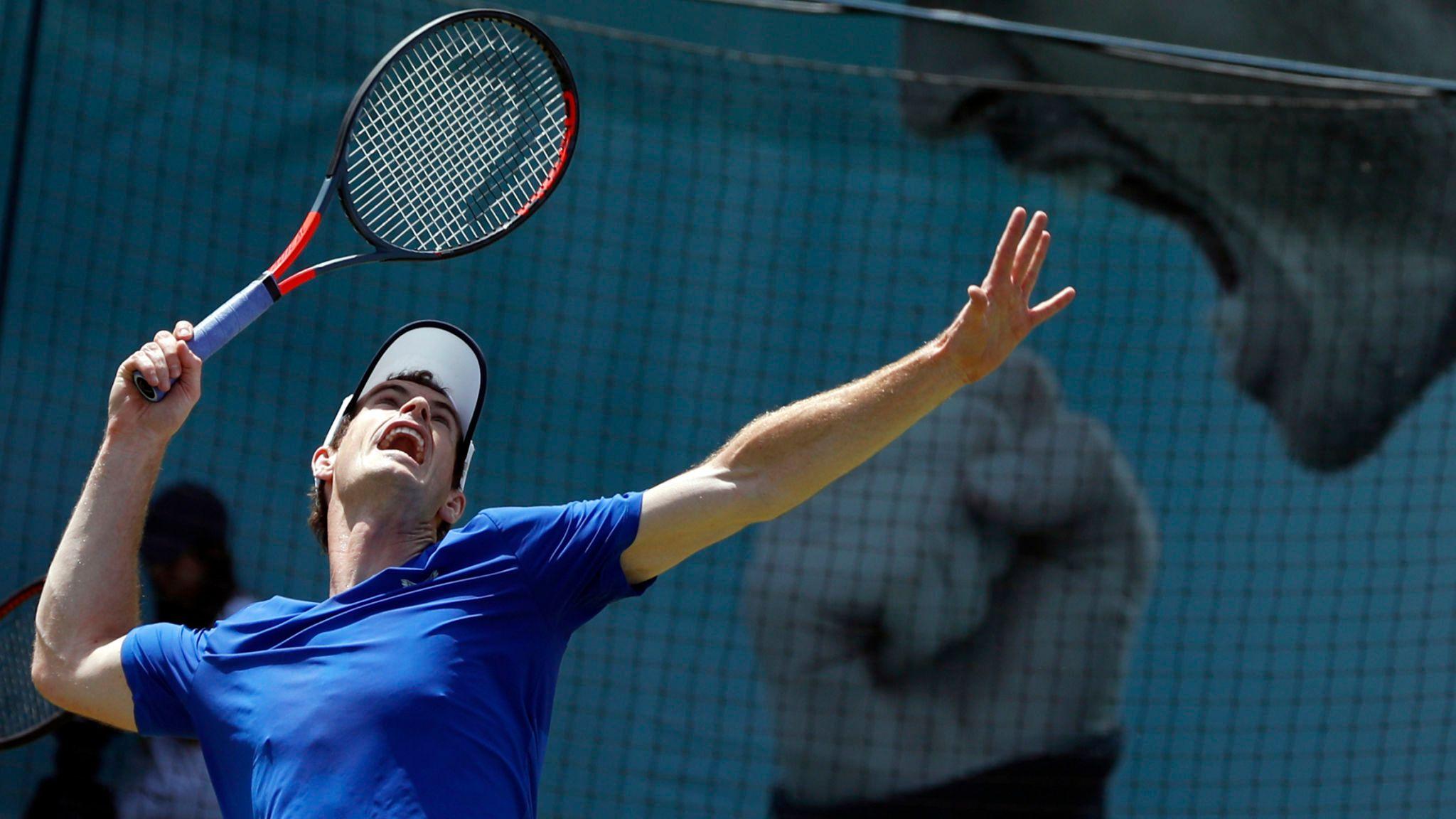 Andy Murray retorna às quadras nesta quinta-feira