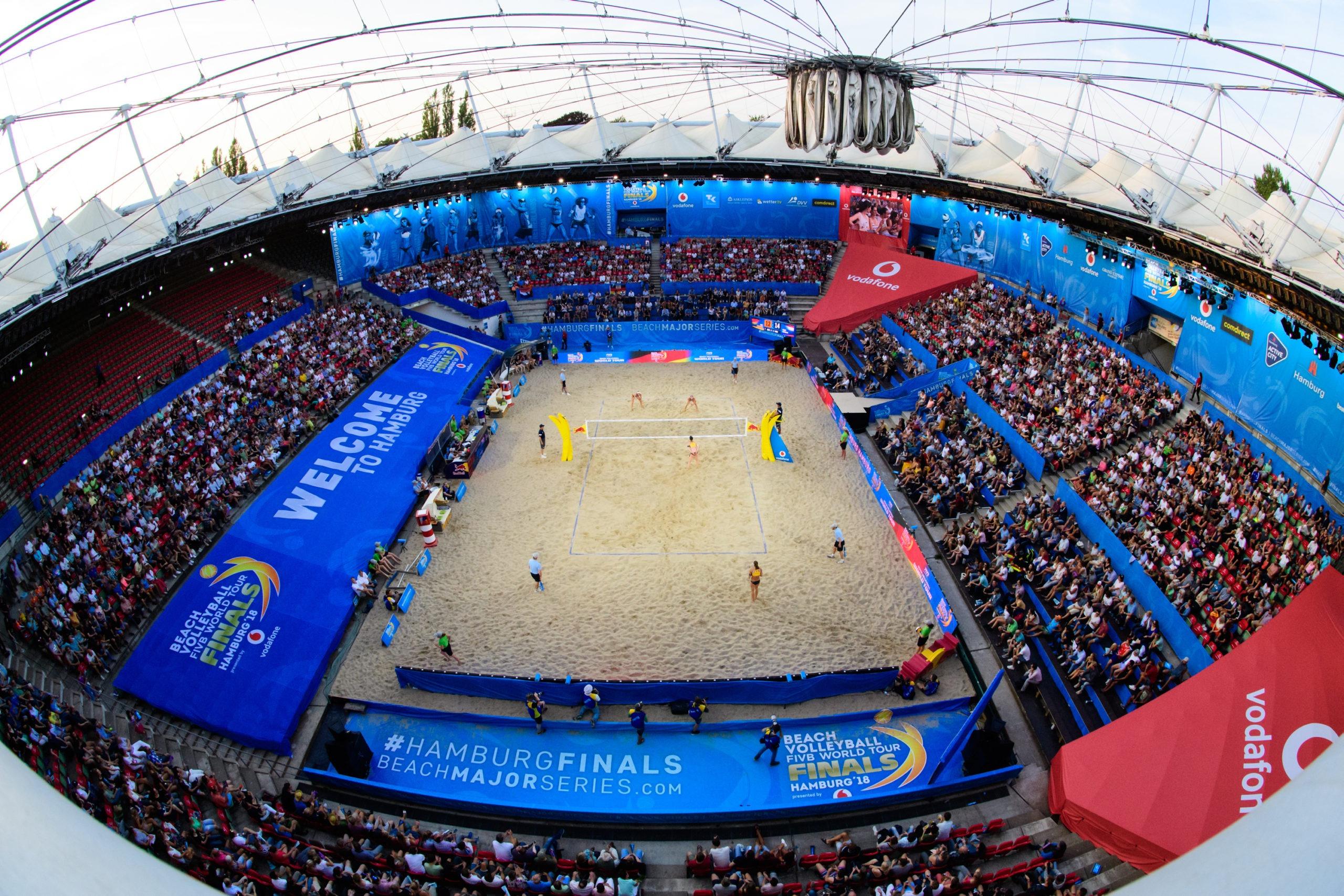 Mundial de vôlei de praia começa nesta sexta-feira