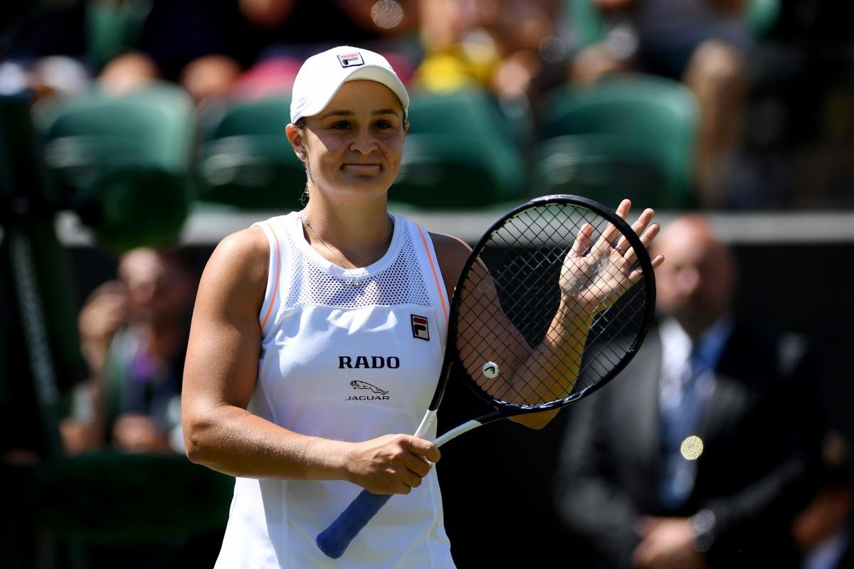 Barty cai em Wimbledon e pode perder a liderança do ranking mundial