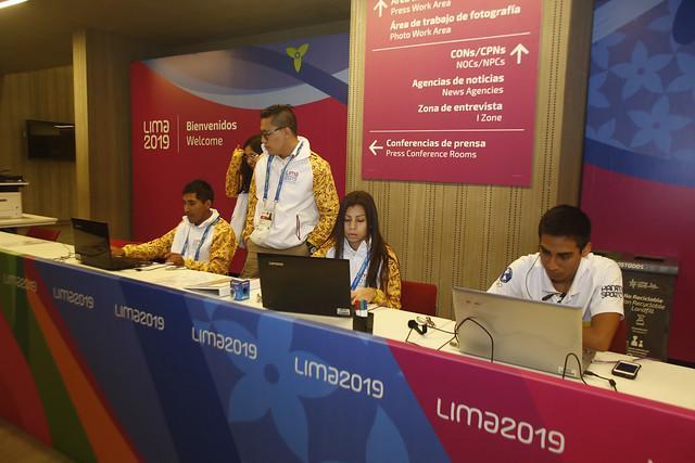 Mais de 1500 jornalistas cobrirão os Jogos Pan-Americanos Lima 2019