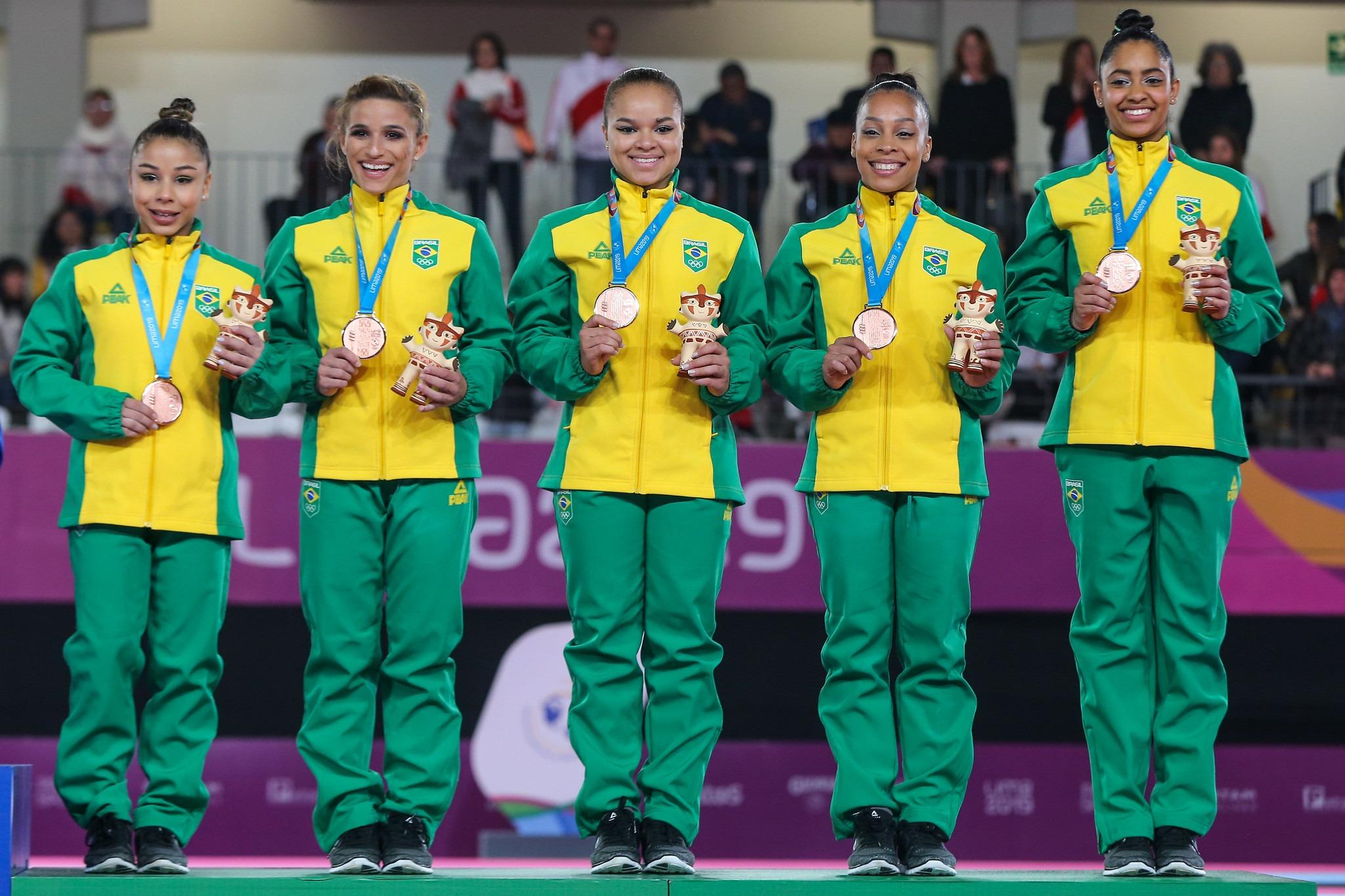 Sem Jade, Brasil conquista o bronze por equipes