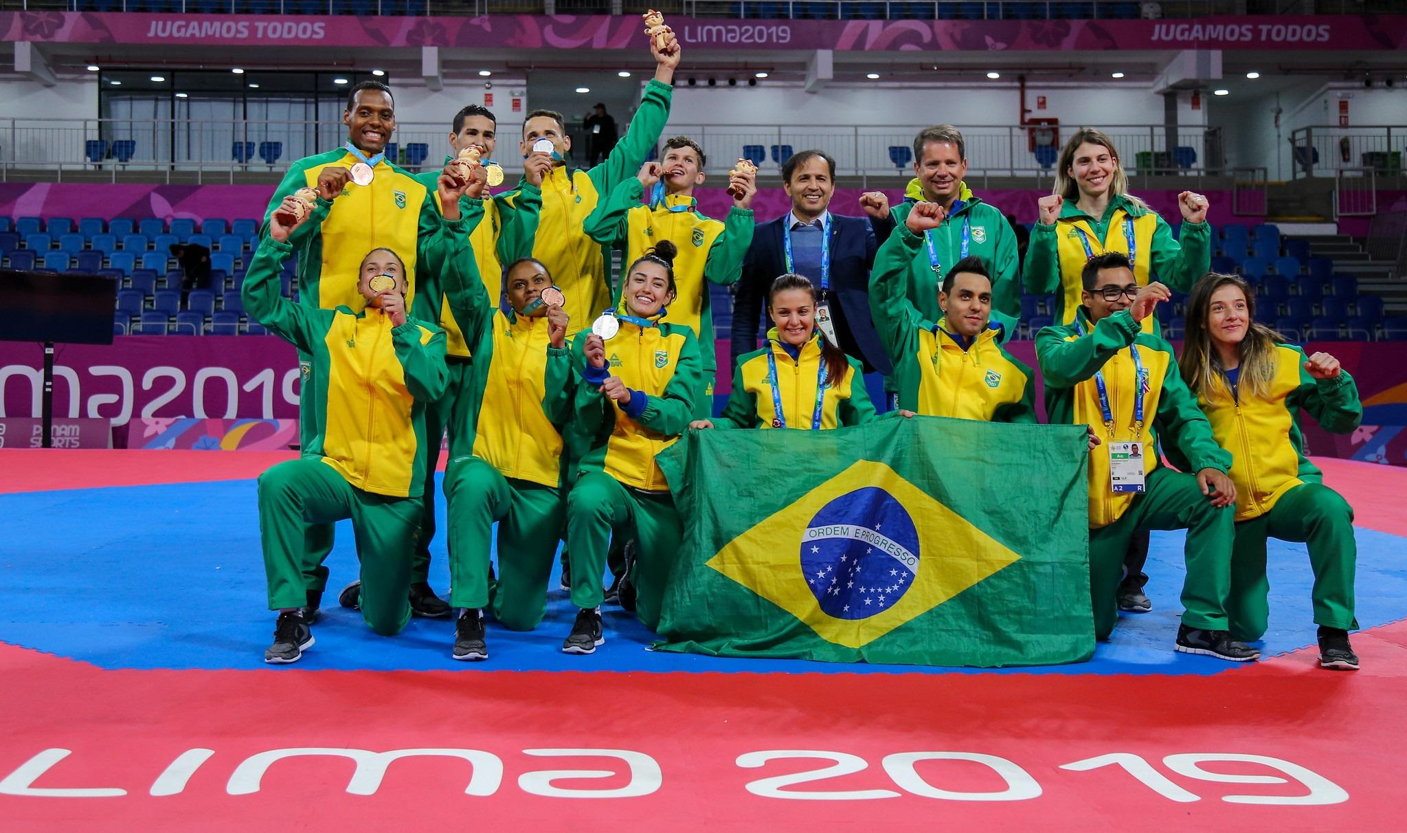 Galeria: Brasil nos Jogos Pan-Americanos de Lima