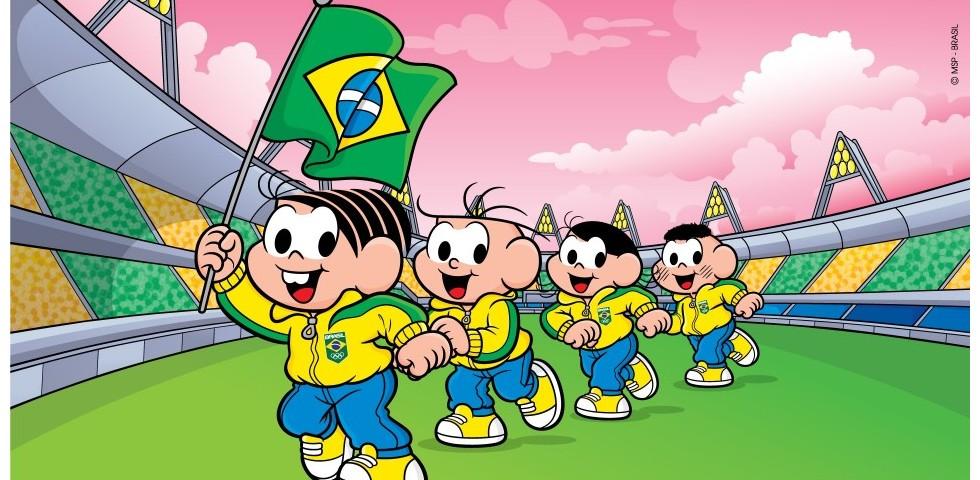 Turma da Mônica entra na torcida pelo Brasil nos Jogos Olímpicos Tóquio 2020