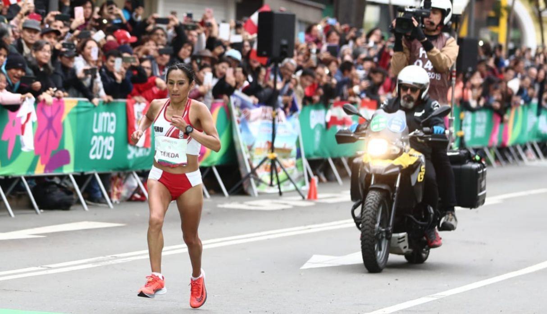Gladys Tejeda é ouro na maratona e derruba recorde pan-americano de brasileira