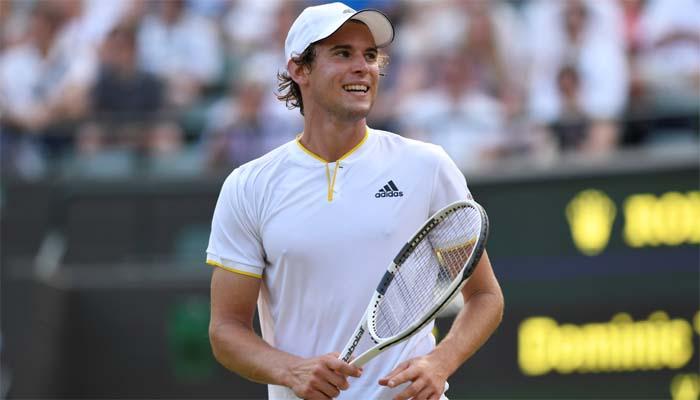 Dominic Thiem leva virada e cai na estreia em Wimbledon