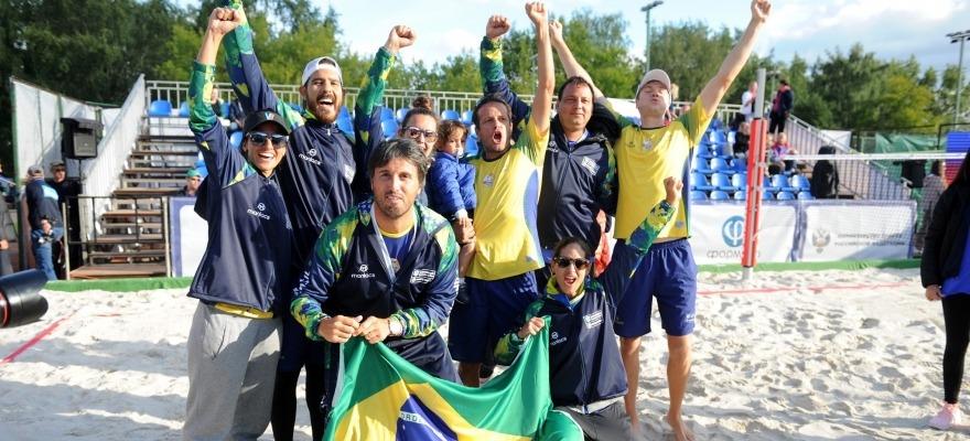 Brasil conquista o tricampeonato no Mundial de beach tennis por equipes