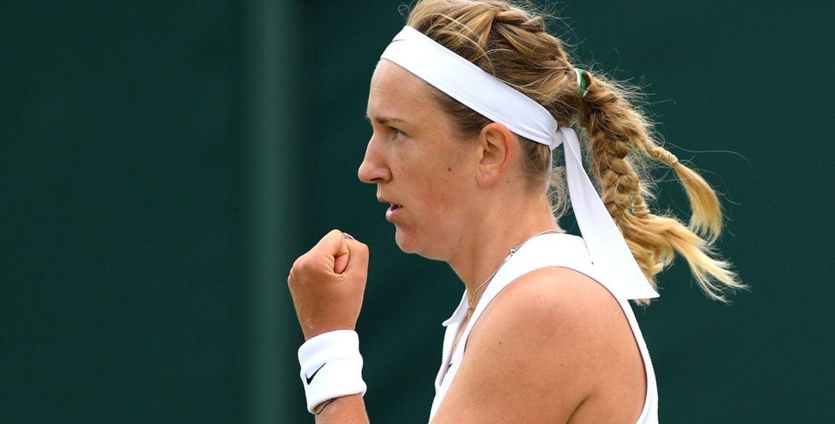 De virada, Victoria Azarenka bate Tomljanovic e avança em Wimbledon