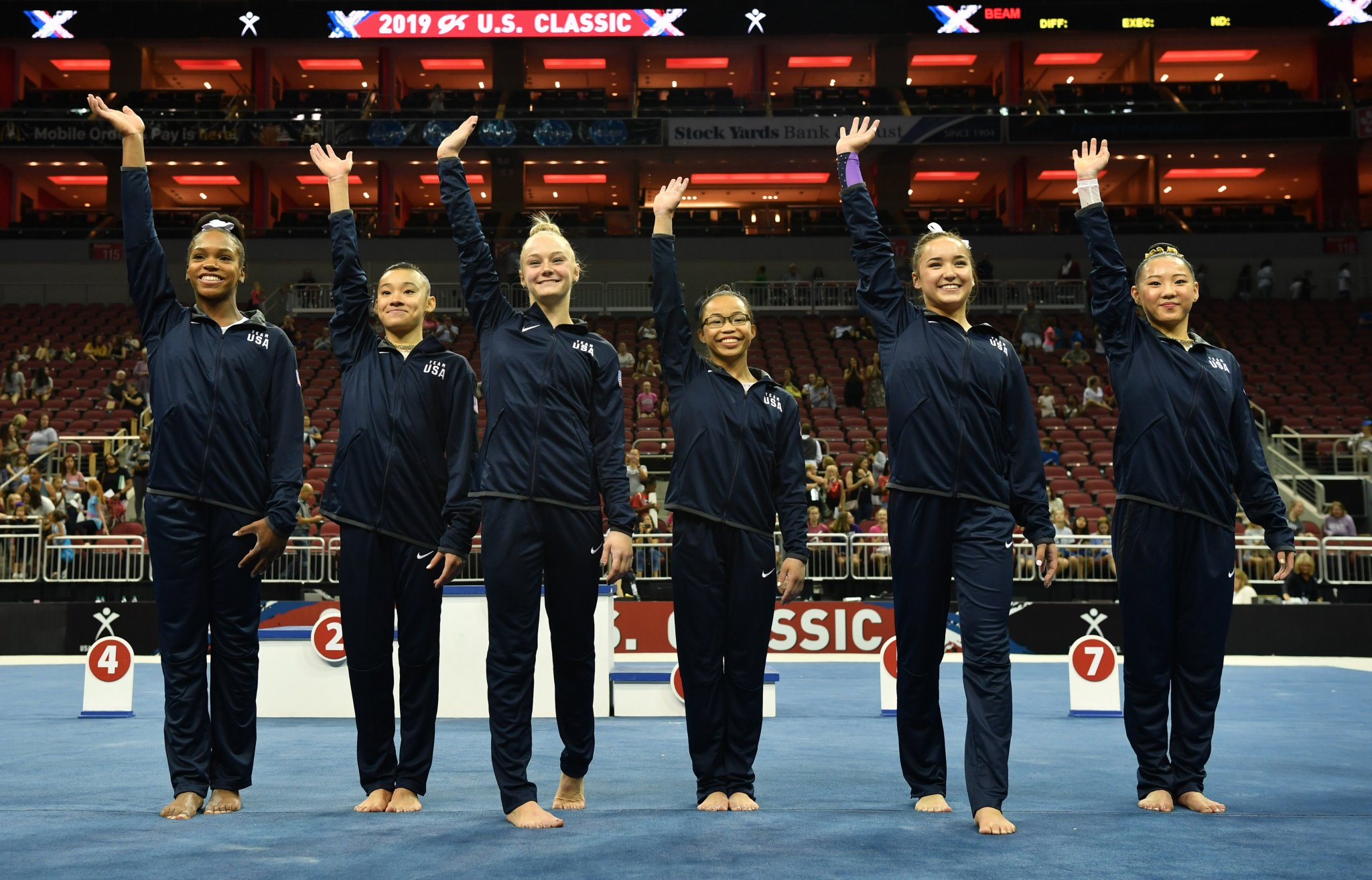 Estados Unidos definem equipe feminina de ginástica para o Pan de Lima