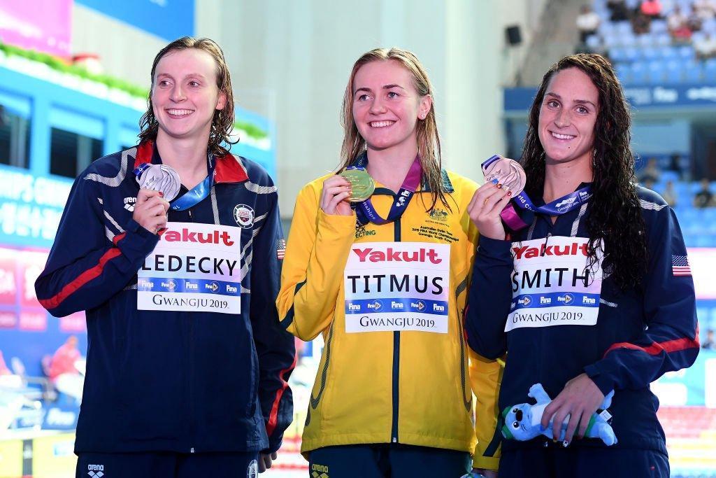 Depois de três edições, o Mundial de natação tem uma nova campeã dos 400 metros livre. Ariarne Titmus é o nome dela!