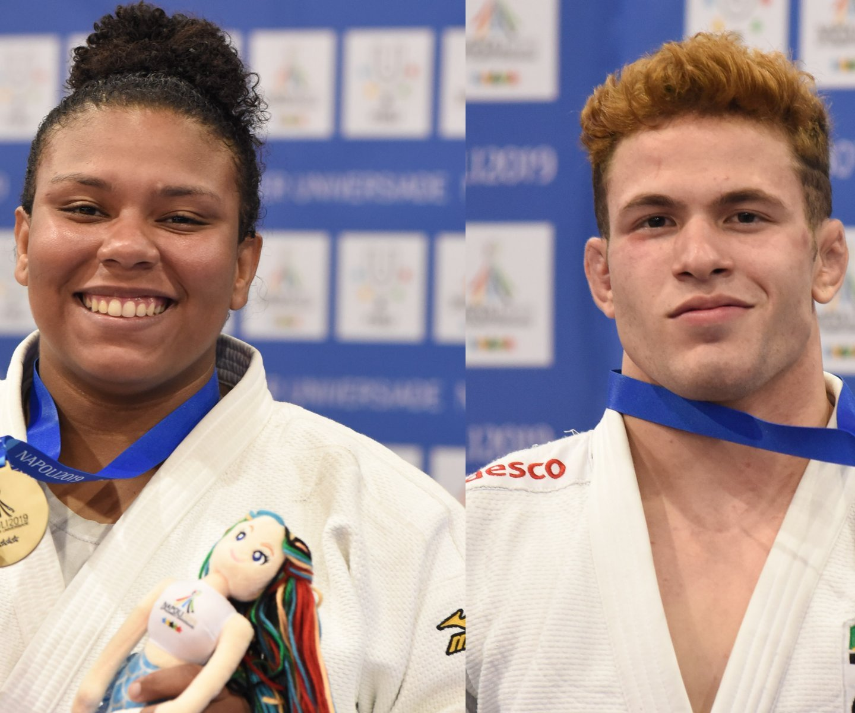 Universíade: Brasil conquista mais duas medalhas de bronze no judô