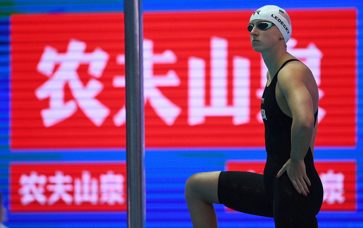 Katie Ledecky não disputará os 200 m livre e é dúvida para a final dos 1500 m em Gwangju