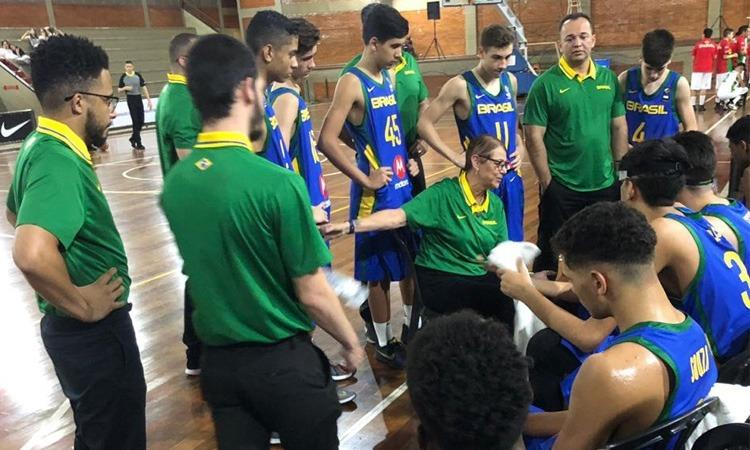 Brasil joga bem e derrota o Paraguai na segunda rodada do Sul-Americano sub-14