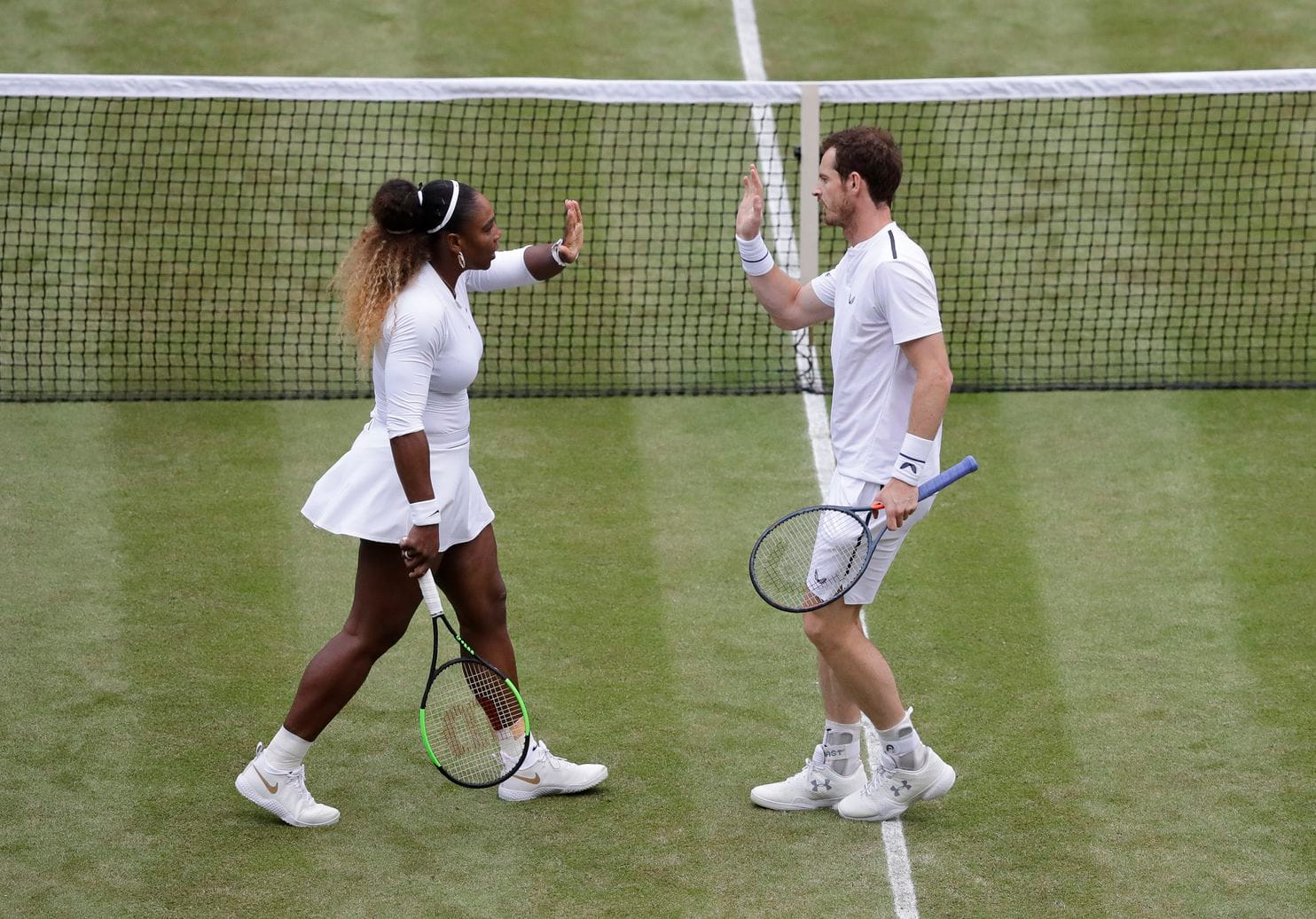 Serena Williams e Andy Murray enfrentam parceria de Bruno Soares em Wimbledon