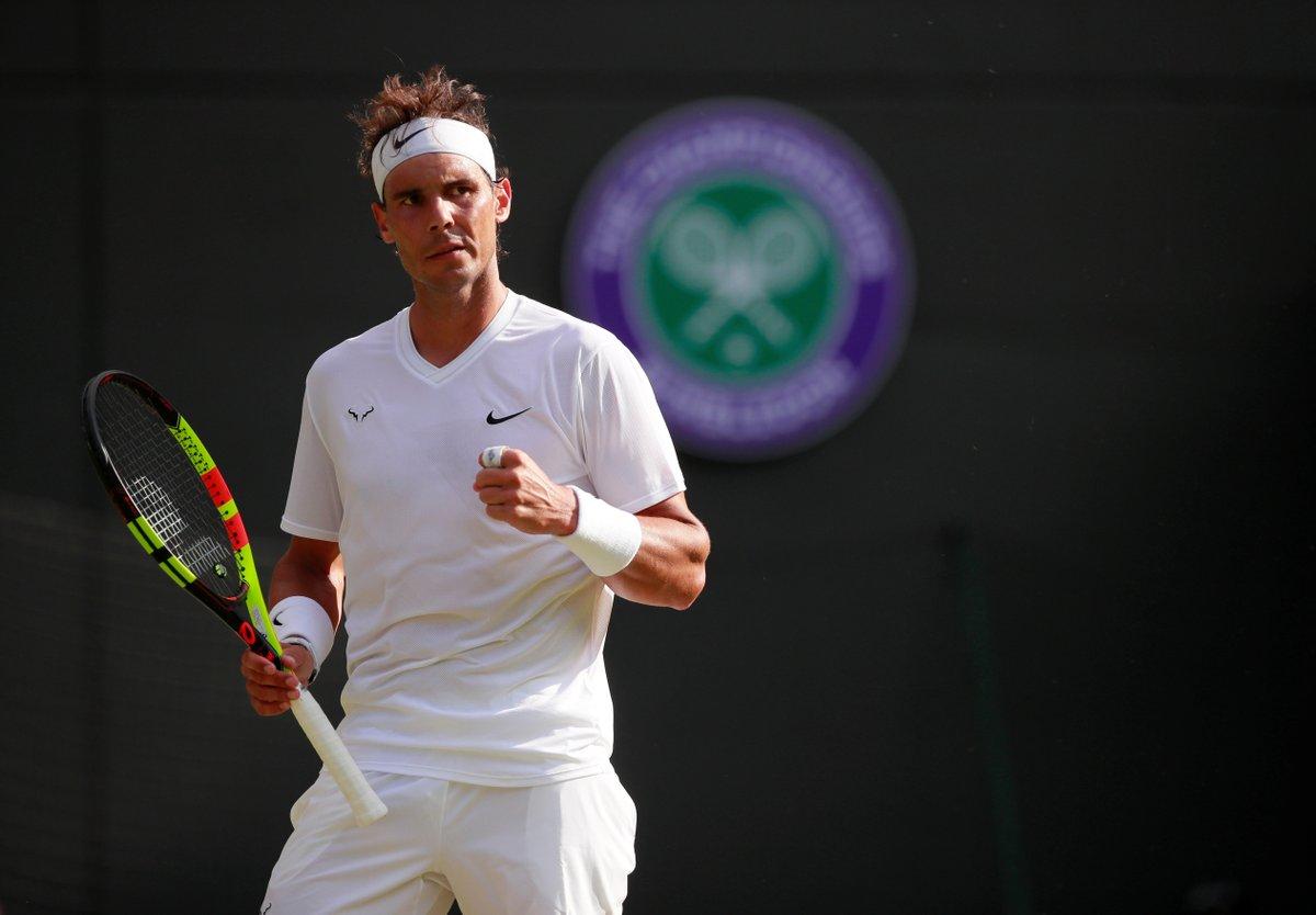Rafael Nadal se garante na segunda semana de Wimbledon