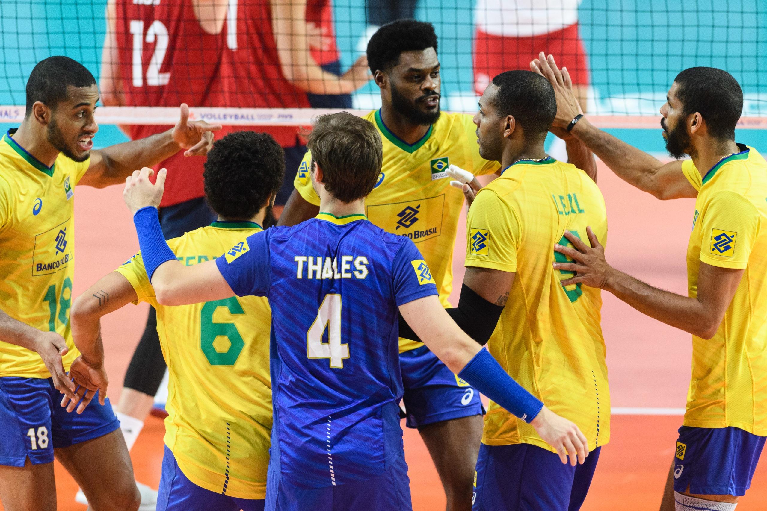 Brasil perde para Polônia e fica fora do pódio na Liga das Nações masculina