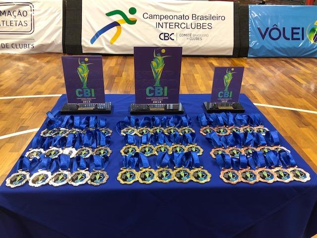 Campeonato Brasileiro Interclubes sub-16 de vôlei começa no RJ
