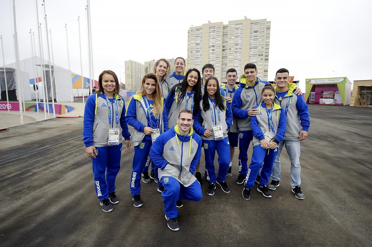 Atletas brasileiros chegam à Vila Pan-Americana Lima 2019