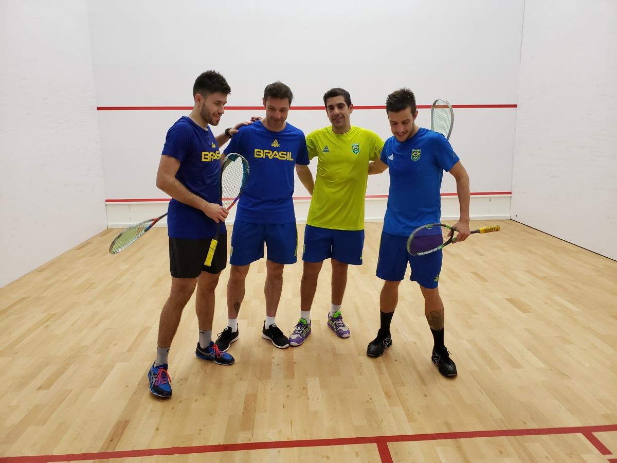 Squash brasileiro inicia sua jornada nos Jogos Pan-americanos Lima 2019