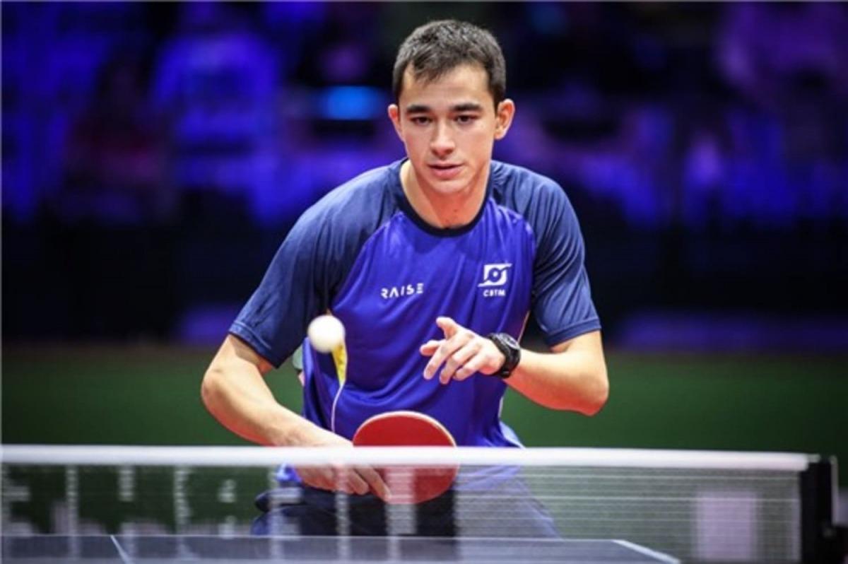 Hugo Calderano disputa torneio com os melhores do mundo na Malásia