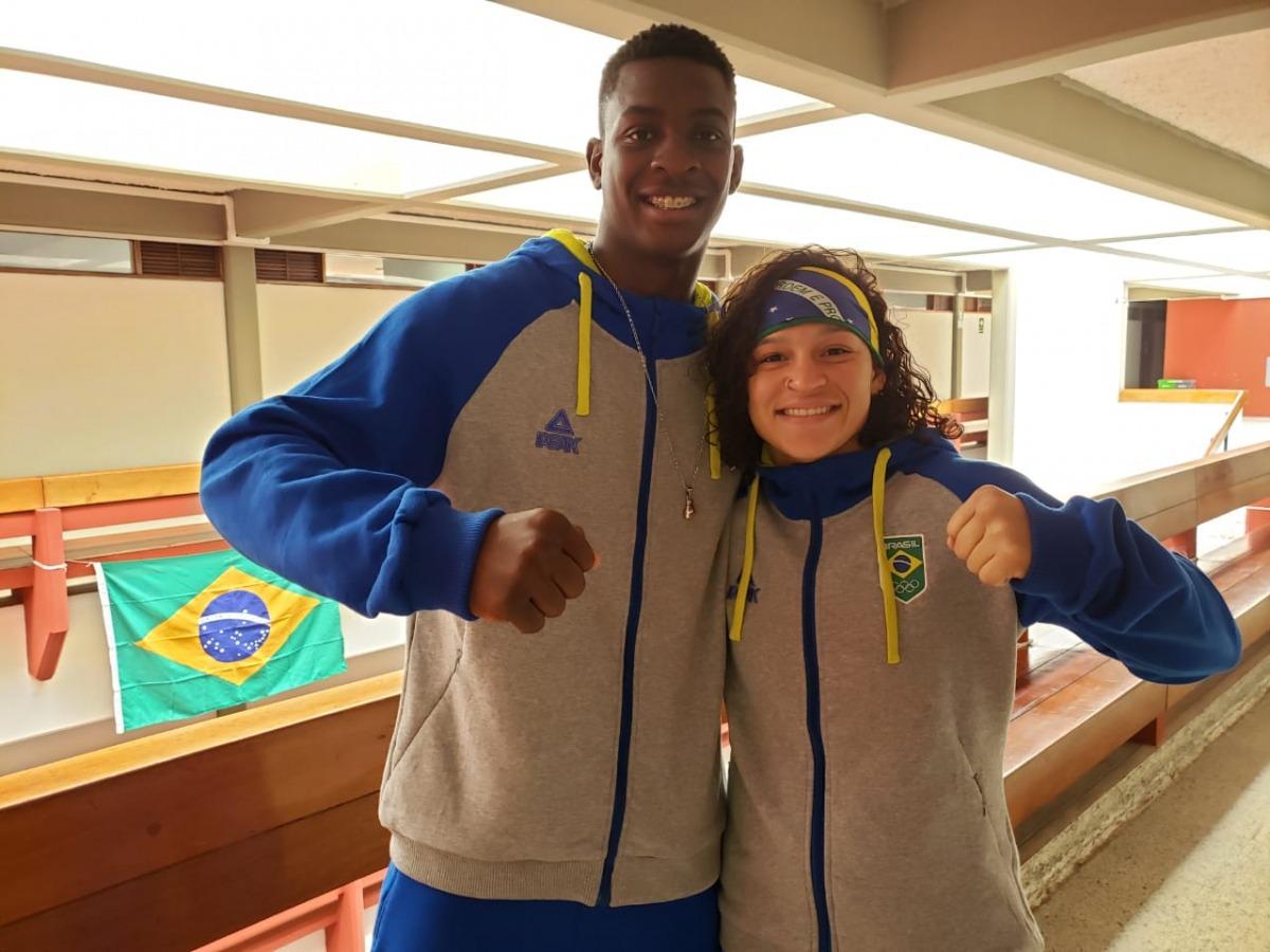 Atletas do boxe chegam em Lima para a disputa dos Jogos Pan-Americanos