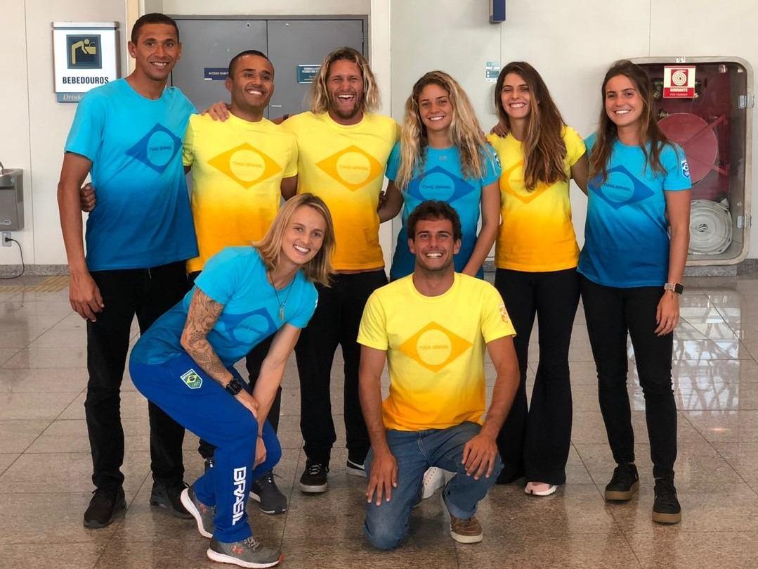 Mais atletas brasileiros viajam para o Peru