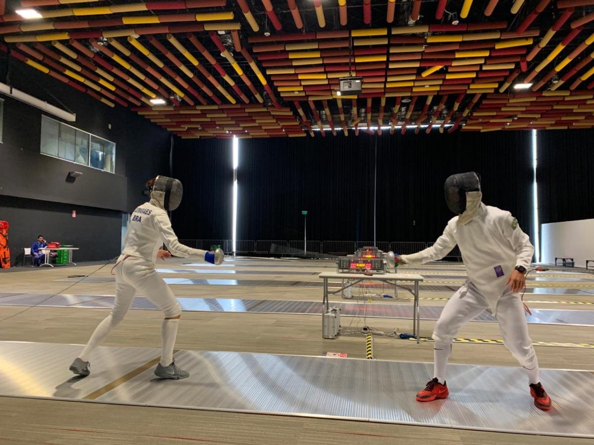 Brasileiros buscam classificação olímpica no pentatlo moderno