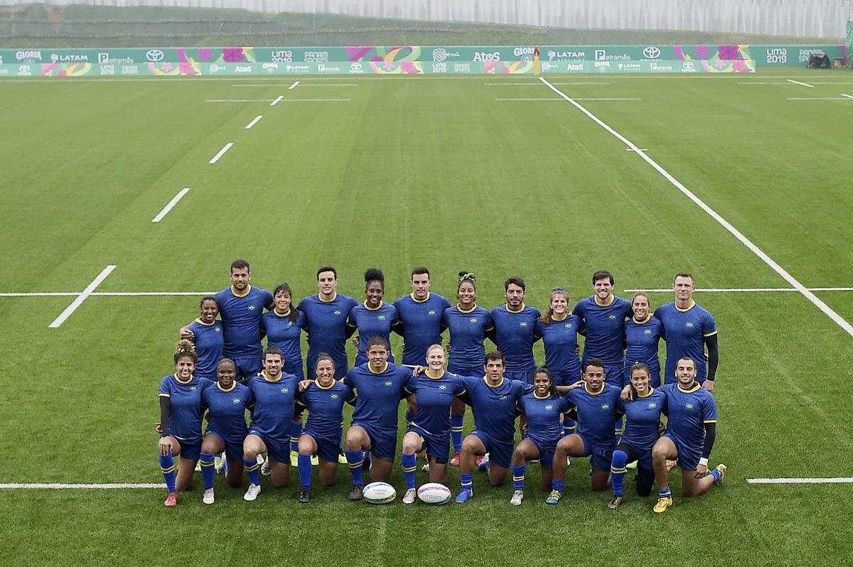 Seleções brasileiras de rugby de 7 buscam melhorar resultados em Lima 2019