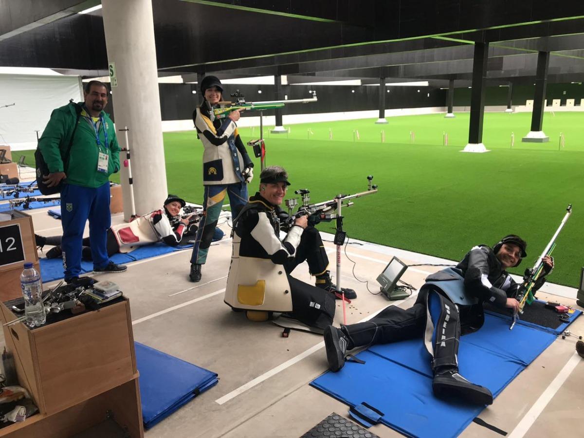 Em busca de vagas olímpicas, tiro esportivo estreia no Pan-Americano de Lima