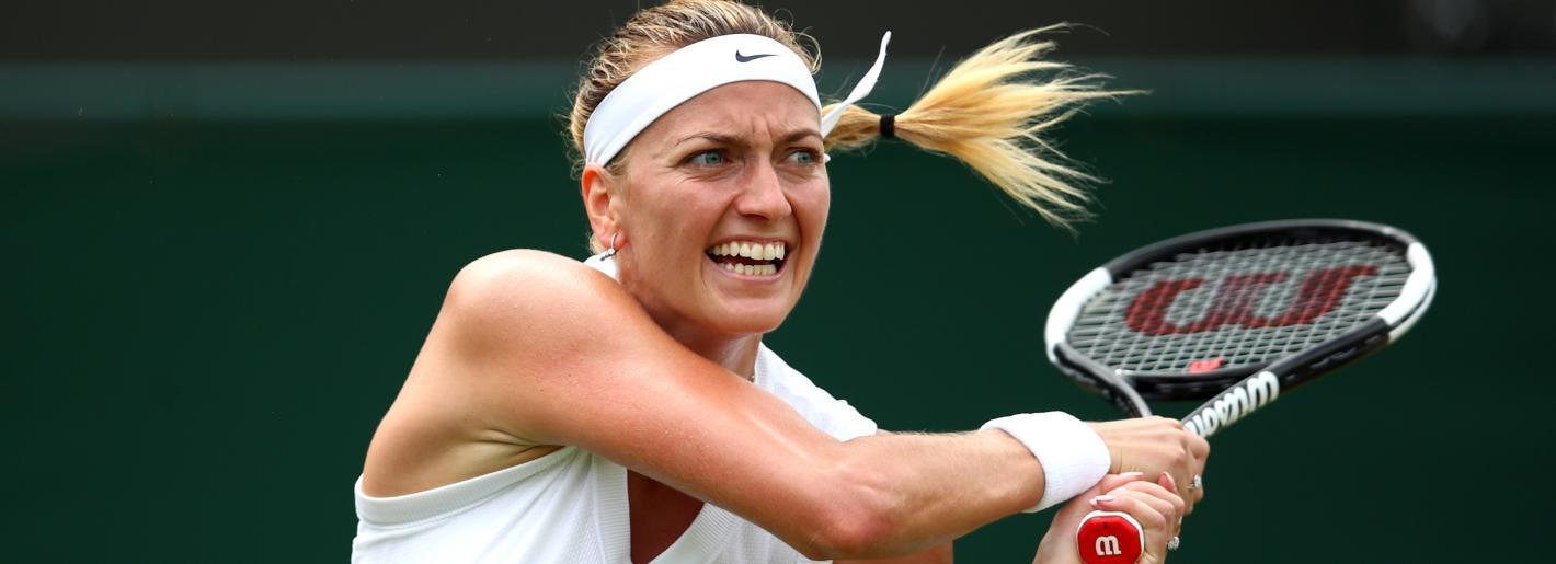 Petra Kvitová avança às oitavas em Wimbledon