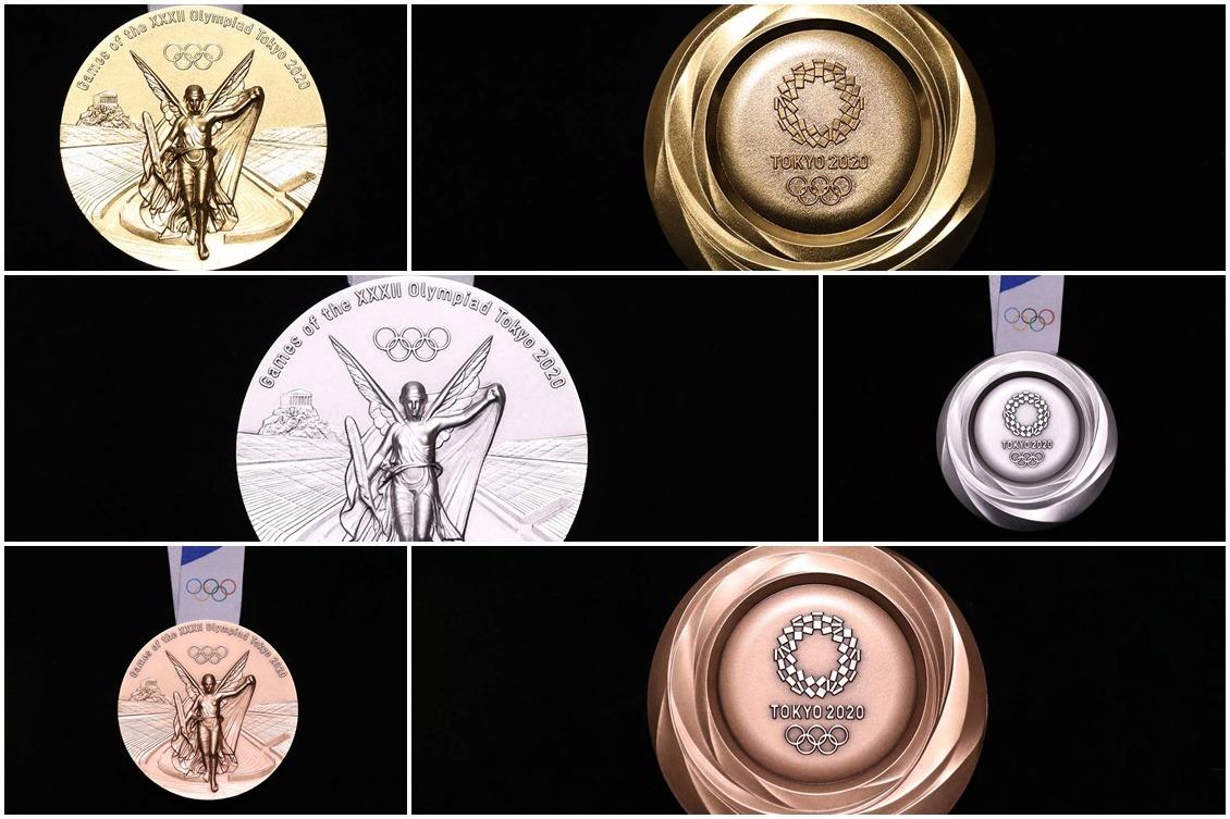 A um ano de Tóquio 2020, organizadores revelam medalhas da competição