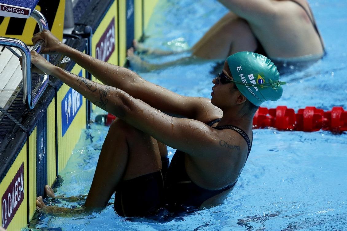 Etiene Medeiros conquista o vice-campeonato nos 50 m costa em Gwangju