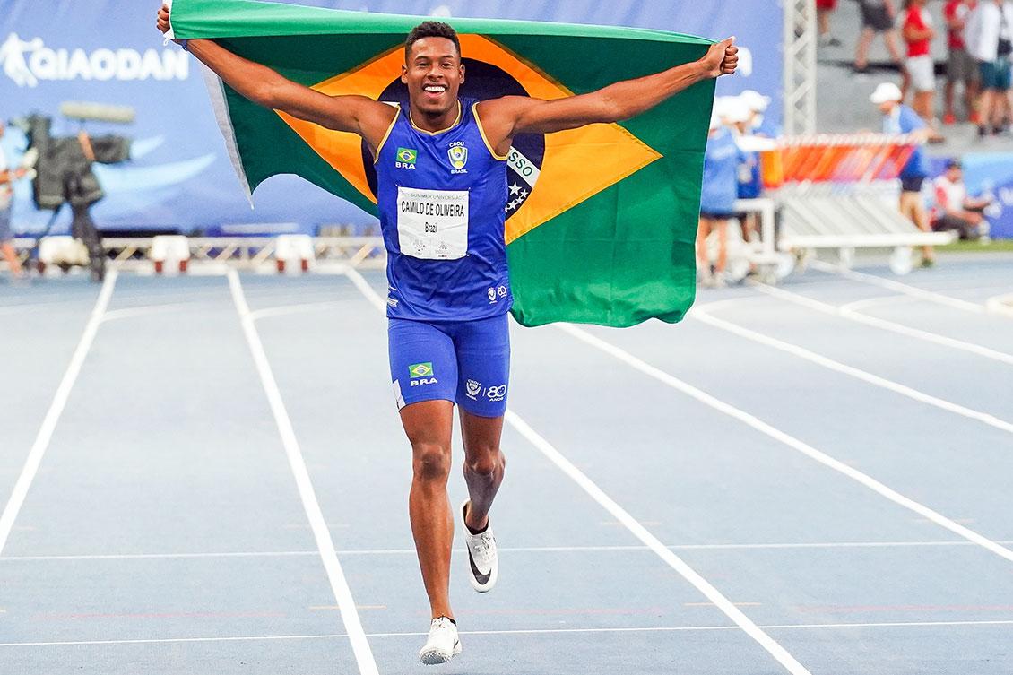 Com 16 medalhas, Brasil garante melhor campanha na história da Universíade
