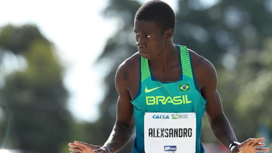 Alexsandro de Melo salta 17,20 m na França e ratifica índice para o Mundial