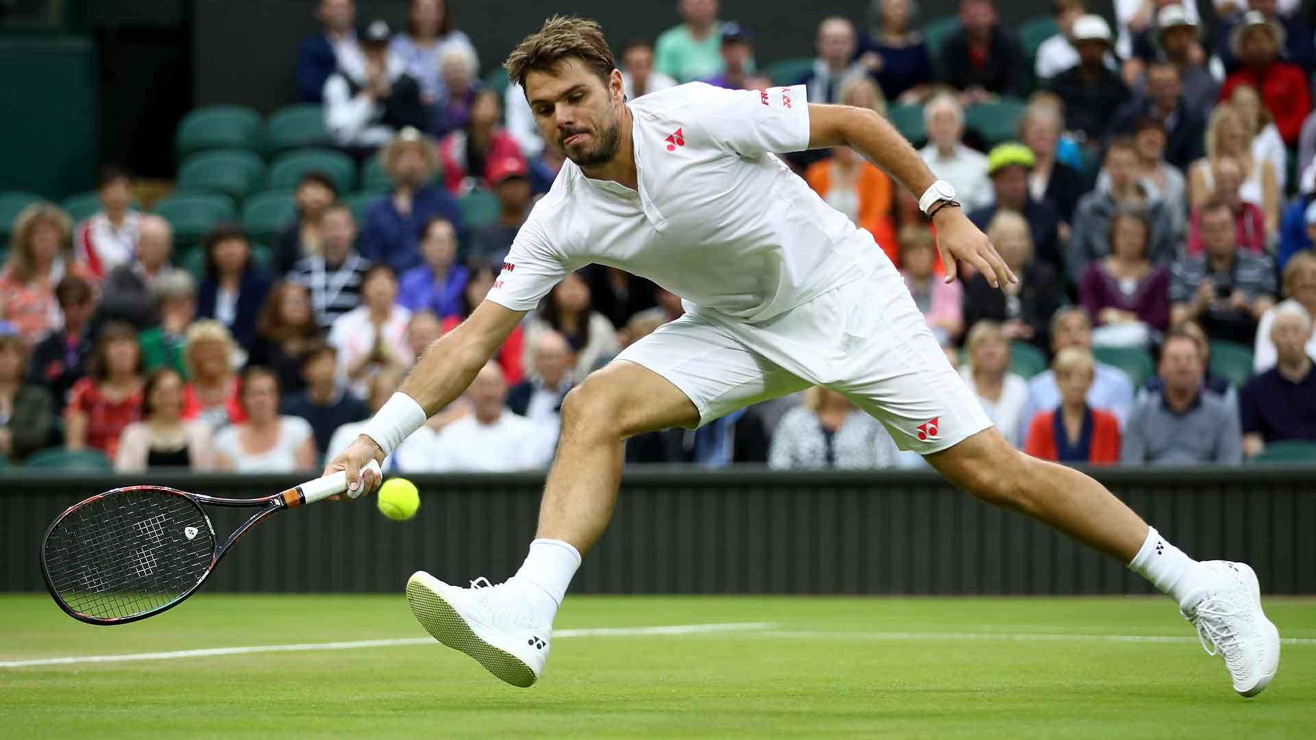 Wawrinka cai em Wimbledon para jovem americano
