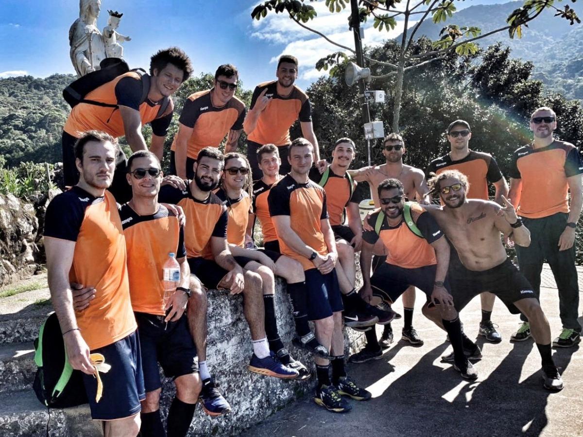 Seleção masculina de handebol encerra 1º fase de treinos para o Pan de Lima
