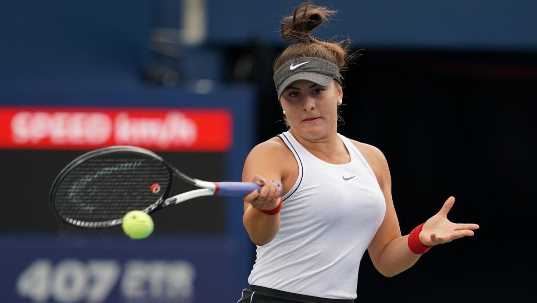 Bianca Andreescu bate Sofia Kenin e faz final em Toronto