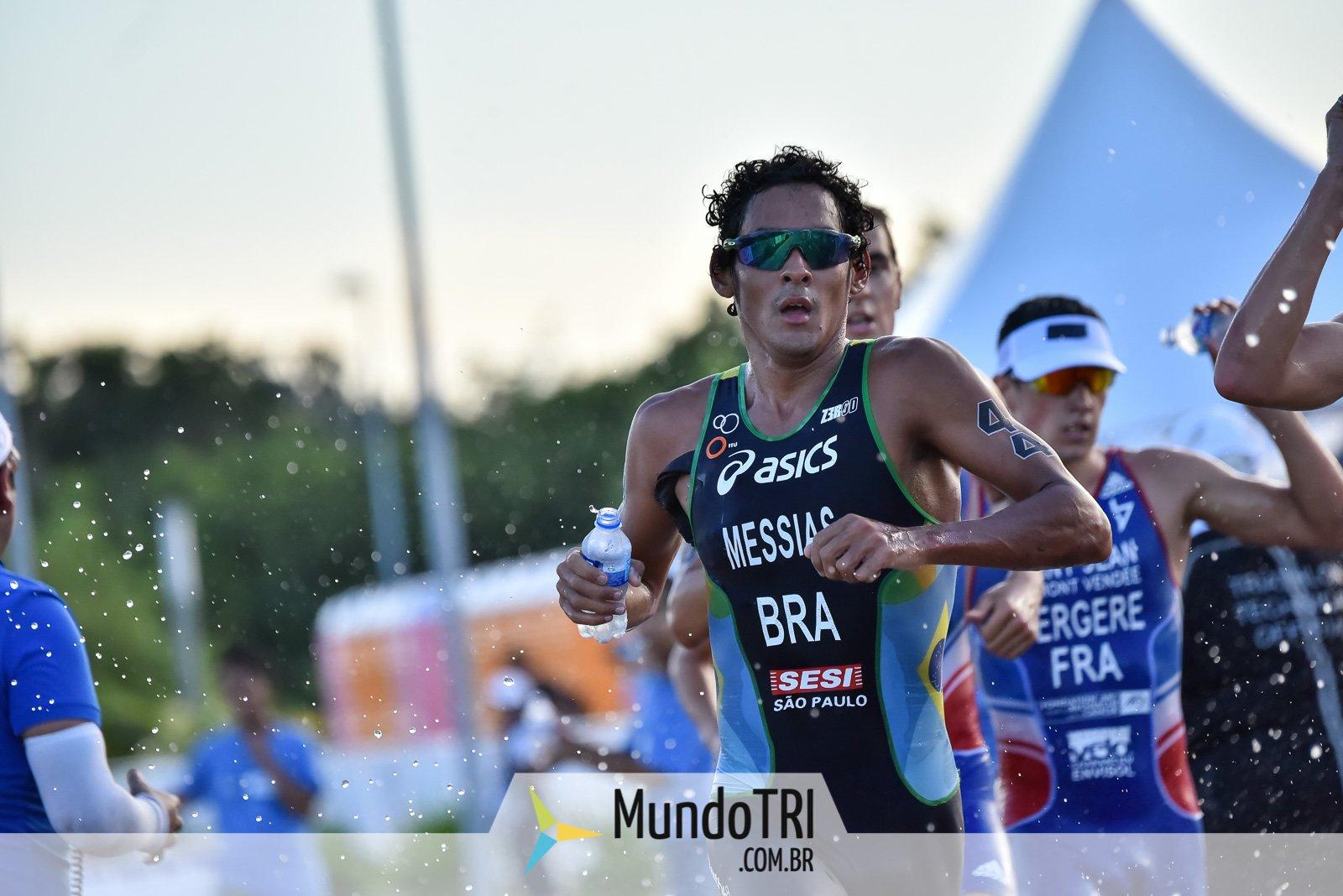 Brasileiros abandonam prova masculina do evento-teste de triatlo em Tóquio