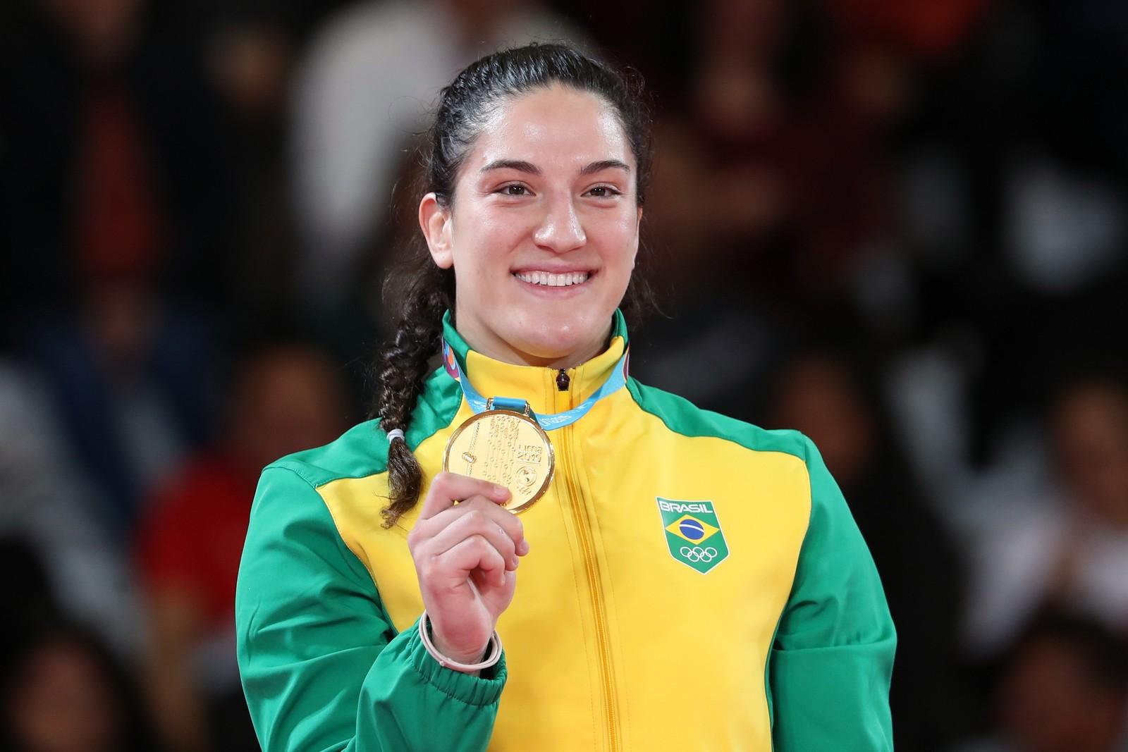 Mayra Aguiar derrota cubana e fatura 1º ouro em Jogos Pan-americanos