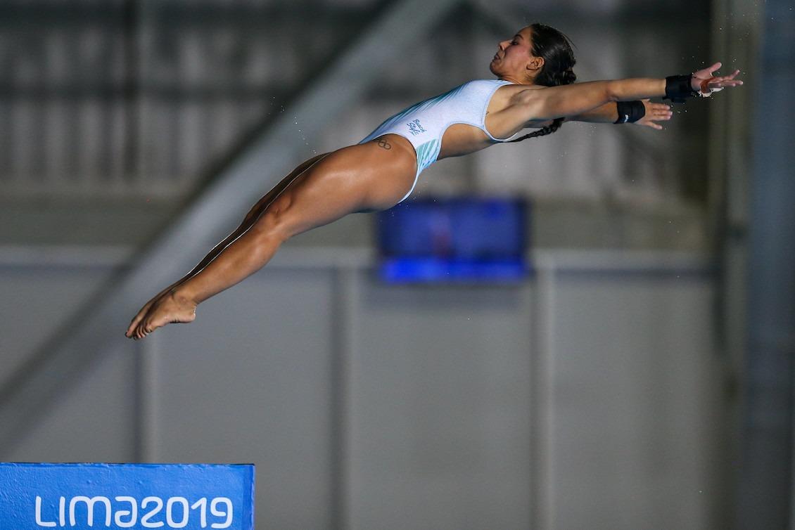 Lesionada, Ingrid Oliveira fica em oitavo na final da plataforma de 10m em Lima