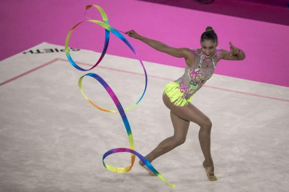 Bárbara Domingos é prata na fita e garante melhor resultado individual da GR em Lima