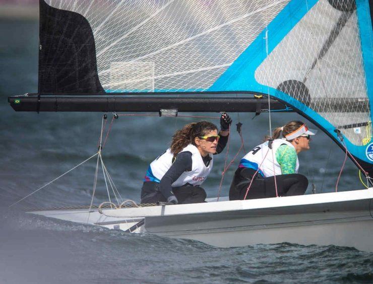 Martine e Kahena vencem evento-teste de vela e confirmam vaga olímpica