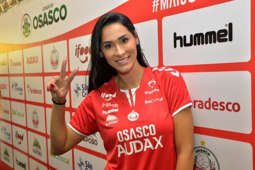 Após ano sabático, Jaqueline é anunciada pelo Osasco/Audax