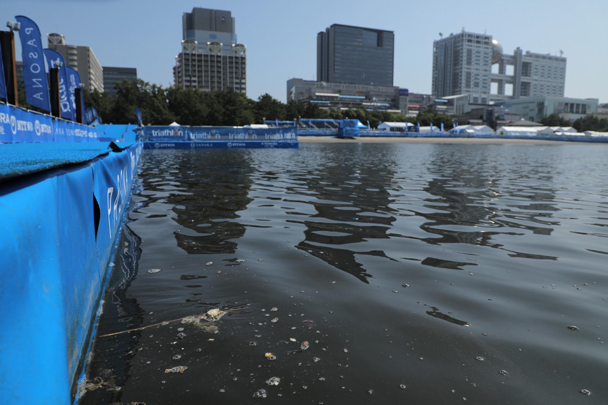 Evento-teste de paratriatlo sofre mudanças por causa de bactéria nas águas de Tóquio
