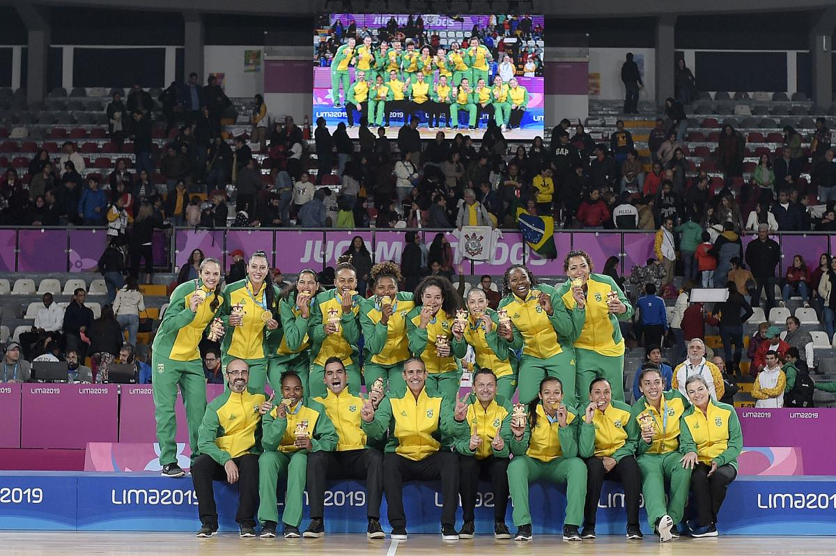Depois de 28 anos, seleção feminina conquista o ouro no basquete em Pans