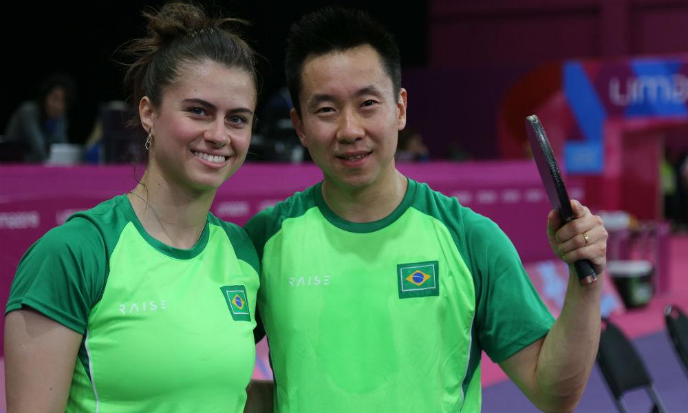 Bruna Takahashi e Gustavo Tsuboi ficam com o bronze em Olomouc