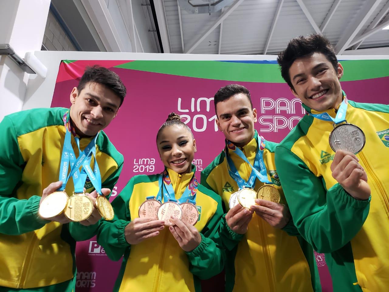 Após campanha histórica em Lima, ginástica brasileira já pensa no Mundial de Stuttgart