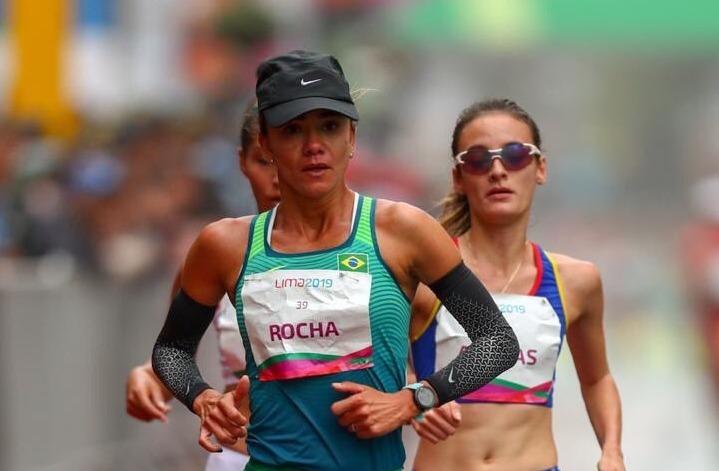 Érica Sena sofre punição e fica com o bronze na marcha atlética em Lima